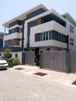 Newly and Lovely Built 4 Bedroom Town House with a Room Bq, Fitted Kitchen in a Gated and Secured Estate, Richmond Gate, Ikate Elegushi, Lekki, Lagos, Terraced Duplex for Sale