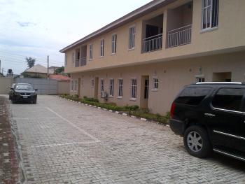 an Exclusive Super Cute 3 Bedroom Terraced Duplex / a Room B Q with Generator Power Supply, Between Jakande and Igbo Efon Traffic Lights, Lekki, Lagos, Terraced Duplex for Rent
