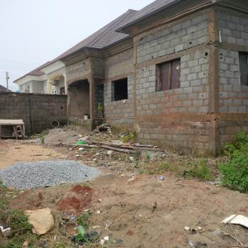 Uncompleted 3 Bedroom Semi Detached Bungalow with Large Compound Area., Ipent Vii Estate, Opposite Efab Metropolis Estate By Mab Global Estate, Gwarinpa Estate, Gwarinpa, Abuja, Semi-detached Bungalow for Sale