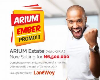 100% Affordable Dry Land in a Serene Environment with C of O - Arium Estate, Abijo Gra, Ibeju, Lagos, Residential Land for Sale