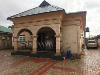 Very Fresh Brand New 4 Bedroom Flat with a Room and Parlor Self Contained Bq, Pz Road, Off Sapele Road, Benin, Oredo, Edo, Detached Bungalow for Sale