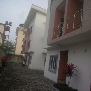 Brand New Self Serviced 4 Units of 4 Bedroom Terrace House, Parkview, Ikoyi, Lagos, Flat for Rent