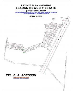 540sqm Plots of Land for Sale at Ibadan Newcity Estate, Western Drive, Off Old Oyo Road, Moniya, Akinyele, Oyo, Residential Land for Sale
