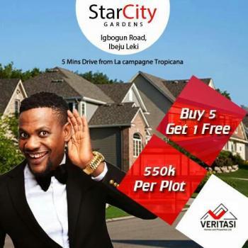 Star City, Igbogun 7 Mins Drive to La Capaigne, Ibeju, Lagos, Mixed-use Land for Sale