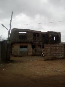 Uncompleted House of 4 Units, 3 Bedroom Flats on Full Plot with C of O, Aso Rock Estate, By Jakande Estate, Isheri, Lagos, Block of Flats for Sale