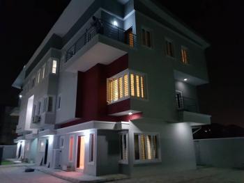 3 Bedroom Terrace Plus 1 Room Bq, U3 Estate, Lekki Phase 1, Lekki, Lagos, Terraced Duplex for Sale