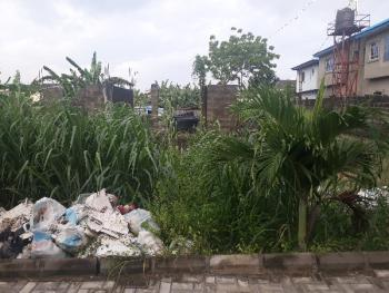 Full Plot of Land with a Pile Foundation and German Floor, Millenuim Estate, Behind Ups on Gbagada Expressway, Gbagada, Lagos, Residential Land for Sale