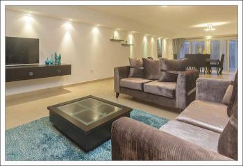 3 Bedrooms Luxury Furnished and Serviced  Apartment, Off Glover Road, Ikoyi, Lagos, Flat Short Let