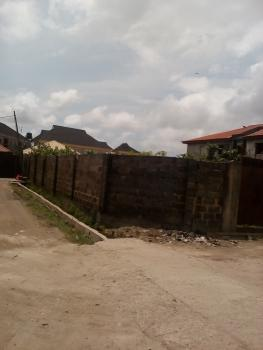 a Corner Piece Fenced, Gated Dry Land, First Unity Road Estate, By Coop Villa Estate, Badore, Ajah, Lagos, Residential Land for Sale