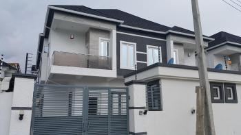 Brand New 4-bedroom Semi-detached House with Bq, Chevy View Estate, Lekki, Lagos, Semi-detached Duplex for Sale