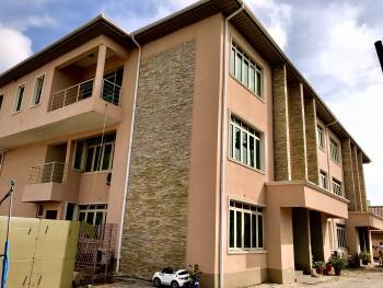 Serviced Three Bedroom Terrace with a Room Bq, Lekki Phase 1, Lekki, Lagos, Terraced Duplex for Rent