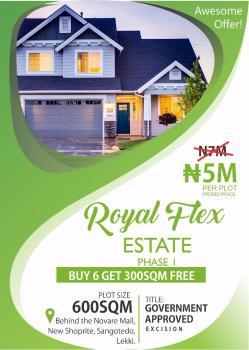 Royal Flex Estate, Off Monastery Road, Behind Shoprite, Sangotedo, Ajah, Lagos, Residential Land for Sale