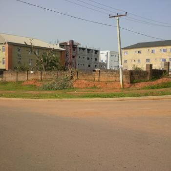 Fully Fenced and Strategically Located Commercial Landuse on The Major Road, Off Olusegun Obasanjo Way, Near Ultramodern Market, Wuye, Abuja, Commercial Land for Sale