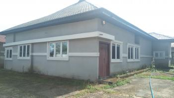 Well Finished 3 Bedroom Detached Bungalow  with 2 Bedroom Boys Quarter, Ewet Housing Estate, Uyo, Akwa Ibom, Detached Bungalow for Rent
