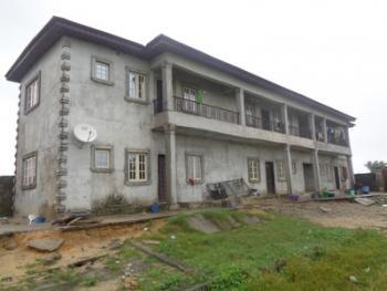 an Uncompleted Block of 6 No. 1 Bedroom  Mini Flats on Half Plot of Land at Elemoro Bogije, Ajah, Elemoro, Bogije, Ajah, Lagos, Mini Flat for Sale