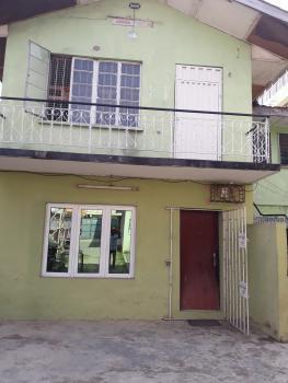 Spacious Commercial 3 Bedroom, Ibikunle Street, Off University Road, Saint Agnes, Yaba, Lagos, Flat for Rent