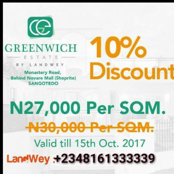 Land  Behind Shoprite Shagotedo, Close to Shoprite, Sangotedo, Ajah, Lagos, Land for Sale