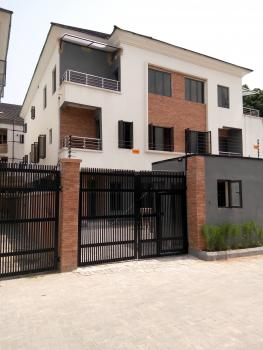 Newly Built 5 Bedroom Semi Detached Duplex with 2 Rooms Bq, Fitted Kitchen in a Gated Estate, Parkview, Ikoyi, Lagos, Semi-detached Duplex for Sale