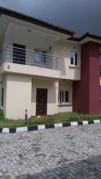 Lovely Four Bedroom Serviced Semi Detached House with Bq, Chevron, Lekki, Lagos, House for Rent
