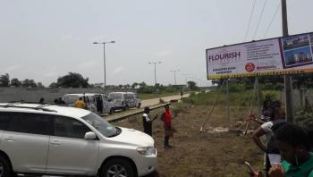 Flourish Residences with C of O Directly on Tarred Road on Monastery Road, Sangotedo, Directly on The Tarred Monastery Road, Sangotedo, Sangotedo, Ajah, Lagos, Residential Land for Sale