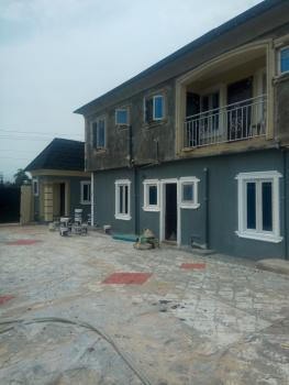 New Built Mini Flat ( a Room N Parlour )with Guest/visitors Toilet., Igbogbo, Ikorodu, Lagos, Mini Flat for Rent