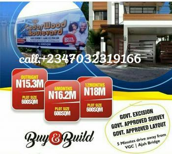 Looking for Land ? We Got You Covered at Cedarwood Boulevard, Lekki Phase2, Ajah, Ogombo, Ajah, Lagos, Mixed-use Land for Sale