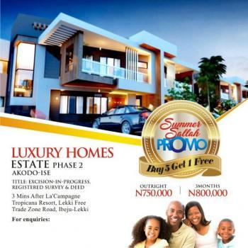 Fantastic Land Deals: Luxury Homes, 3min Aftrr Lacarpan Tropicana Resort, 5min Off Lacarpan Tropicana Resort, Ibeju, Lagos, Residential Land for Sale