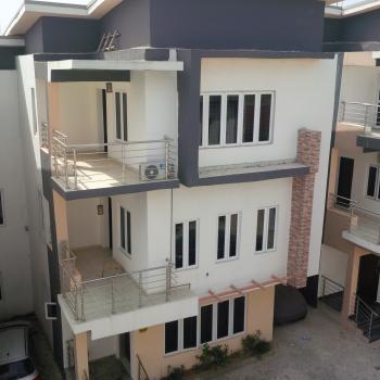 Brand New, Well Built & Spacious 4 Bedrooms Terrace Duplex with Bq, Off Edwin Clark Way, Guzape District, Abuja, Terraced Duplex for Sale
