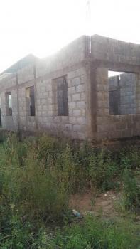 4 Bedroom Carcass on a Land Measuring 500sqm, Kings Court, Along Airport Road, Kuchigoro, Gwarinpa, Abuja, Detached Duplex for Sale