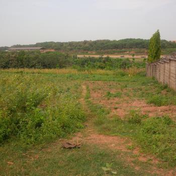Fenced, Well Secured, Instantly Build & Live Low Density Residential Plot, Off Reuben Okoya Street, Off Olusegun Obasanjo Way, Wuye, Abuja, Residential Land for Sale