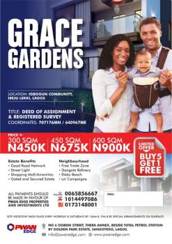 Ogbonge Promo Wey Dey Burst Brain!!! Grace Garden Estate, Lekki Free Trade Zone, Lekki, Lagos, Residential Land for Sale