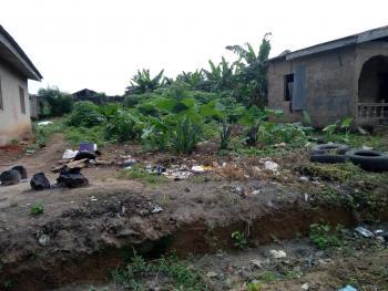Half Plot with 2 Bedroom Structure Up to Lintel Level, Morikas Street, Off The Bells University, Ado-odo/ota, Ogun, Residential Land for Sale