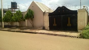 4 Bedroom Bungalow on One Plot of Land, Visitor Rooms with 5 Toilets  on Tarred Road, Oshinle Quarter, Akure, Ondo, Detached Bungalow for Sale