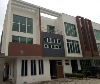 Super Luxury 4 Bedroom Terrace House with a Room Bq, in a Private Estate, Lekki Phase 1, Lekki, Lagos, Terraced Duplex for Rent