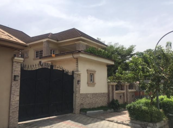 Spacious 5 Bedroom Detached Duplex, Garki, Abuja, Detached Duplex for Sale