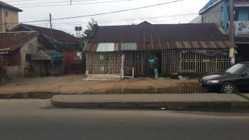 Commercial Plot, Along Nta Road, Mgbuoba, Obio-akpor, Rivers, Detached Bungalow for Sale
