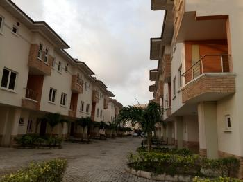 Super Well Finished 4 Bedroom Serviced Terrace with Bq, Also Has Well Fully Fitted Kitchen, By 2nd Tollgate, Orchid Hotel, Ikota Villa Estate, Lekki, Lagos, Terraced Duplex for Rent