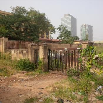 Perfectly Situated & Well Sited Commercial ( Not Specified) Fenced & Gated Land, Directly Behind Wema Bank Building Near World Trade Centre, Central Business District, Abuja, Commercial Land for Sale