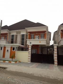 Newly Built 4 Bedroom Semi-detached Duplex with a Room Boys Quarters, All Rooms En Suite, Fitted Kitchen, Chevron Alternative Drive, Lekki Expressway, Lekki, Lagos, Semi-detached Duplex for Sale