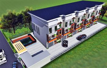 4 Bedroom Terrace Apartment with 1 Room Bq, Close to New Shoprite, Osapa, Lekki, Lagos, Terraced Duplex for Sale