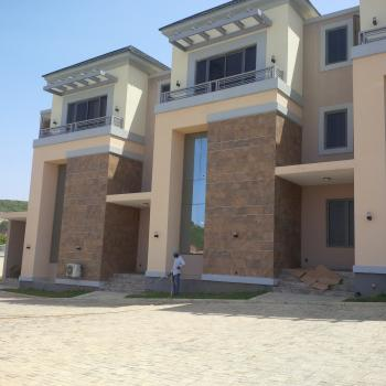 Exquisitely Finished & Luxury Built 4 Bedroom Triplex with a Room Boys Quarters, Off Edwin Clark Way Near Coza Church, Guzape District, Abuja, Terraced Duplex for Rent