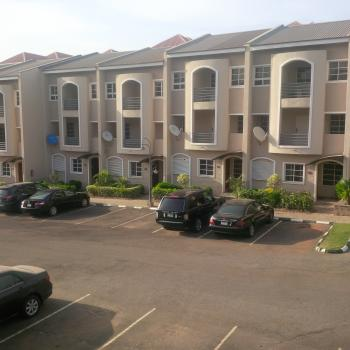 Luxurious Finished & Serviced 3 Bedroom Terrace Duplex with Bq & Swimming Pool, Off Olusegun Obasanjo Way, Near Family Worship Centre, Wuye, Abuja, Terraced Duplex for Rent