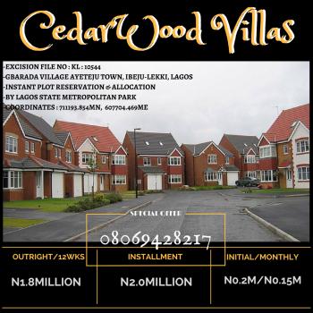 Plots of Land, By Lagos State Metropolitan Park, Eluju, Ibeju Lekki, Lagos, Mixed-use Land for Sale
