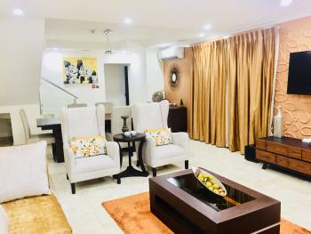 Maisonette 3 Bedroom Luxury Apartment, Castle and Temple, By Admiralty Road, Lekki Phase 1, Lekki, Lagos, Flat Short Let