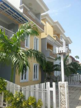 Tastefully Finished 5 Bedroom Terrace Duplex Duplex with 2 Rooms Bq, Utako, Abuja, Terraced Duplex for Sale