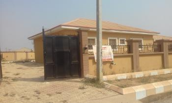 a 3 Bedroom Bungalow (all Room En-suite Withe Visitors Toilet) Alone in a Compound, Fha Estate New Site (red Roof), Lugbe District, Abuja, Detached Bungalow for Rent