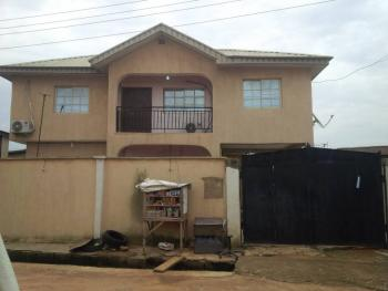 a Block of 4 Flats of 1 Number of 3 Bedrooms and 3 Numbers of 2 Bedrooms Flats with a Room Bq, All Rooms En Suite with Wardrobes, Oshola Street, Off College Road, By Oyemeku Bus Stop, Ogba, Ikeja, Lagos, Block of Flats for Sale