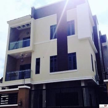 New | Privately Gated 5 Bedroom Fully Detached Triplex | Self Serviced, Off Gerald, Ikoyi, Lagos, House for Sale
