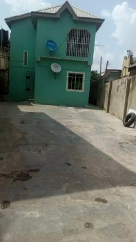 a Nice 2 Number of  3 Bedrooms Flats with Tiles,  Parking Space, Fenced with Gates, Water Etc at Adeniji Estate Ogba, Adeniji Estate, Behind Excellence Hotel, Ogba, Ikeja, Lagos, Flat for Rent