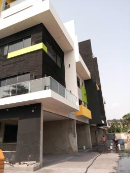 Newly Built Spacious 5 Units of 5 Bedroom Terrace House with a Room Bq, Fitted Kitchen, Etc, Off Queens Drive, Old Ikoyi, Ikoyi, Lagos, Terraced Duplex for Sale